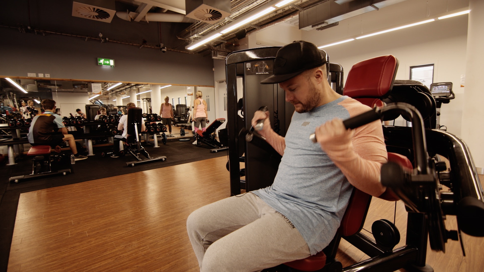 Mat in the gym