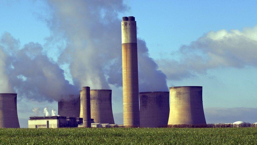 Chimney - power station