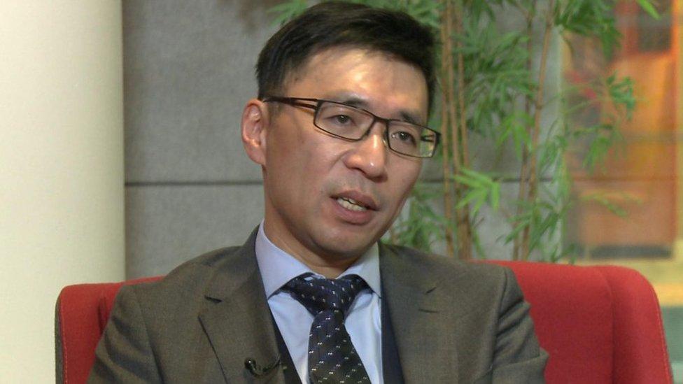 Ronald Li, fundador de Novoheart