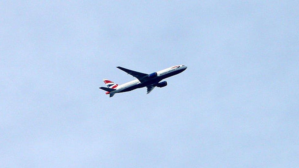 Vuelo de British Airways