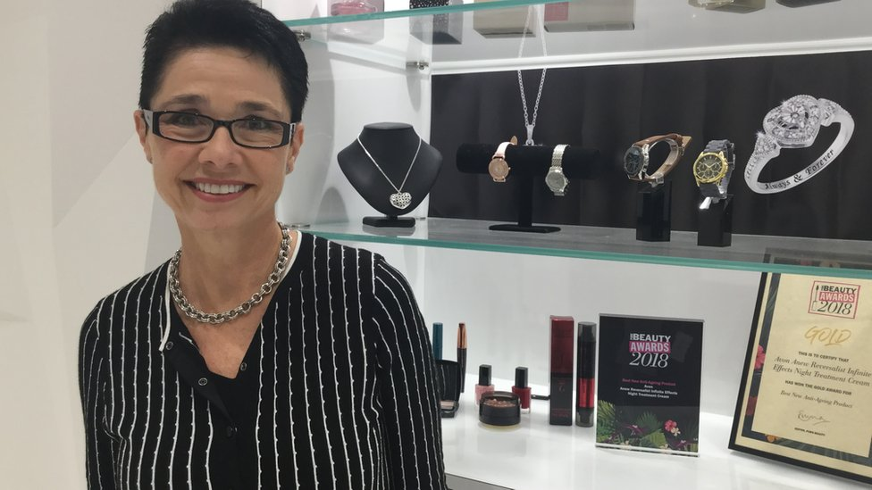 Louise Scott, Avon's chief scientific adviser