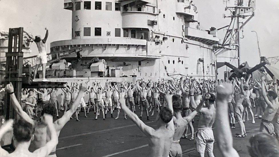英國強大號航空母艦(Formidable)