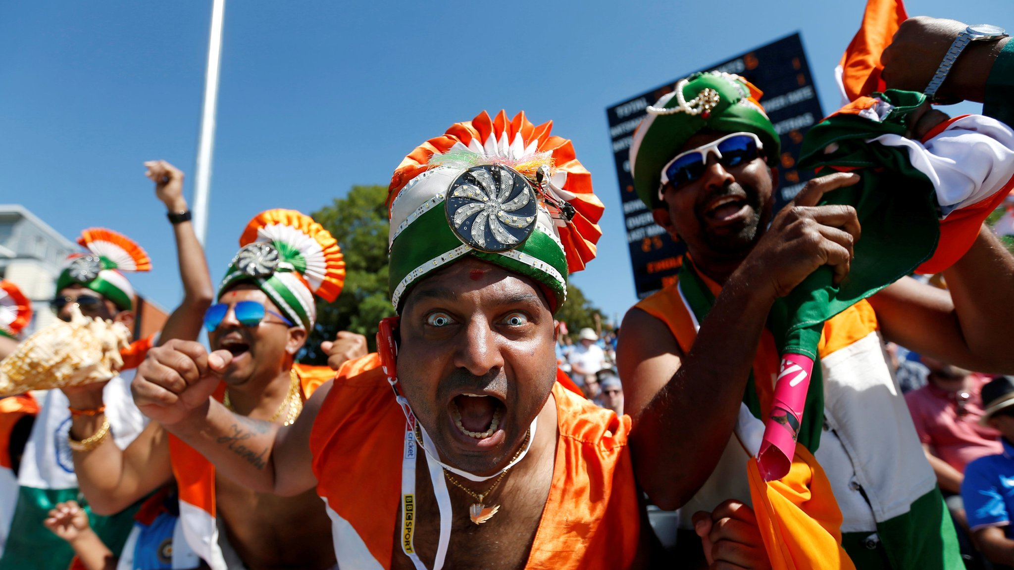Bharat Army: The British Asians behind India cricket team's biggest supporter