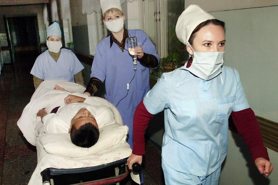 Paciente con tifoidea