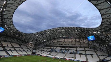 Marseille football stadium