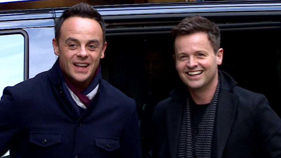 Ant and Dec reunite to film Britain's Got Talent auditions