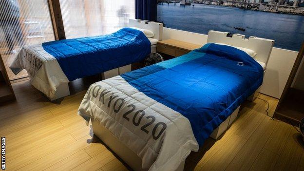 Sobe za sportiste u Olimpijskom selu u Tokiju