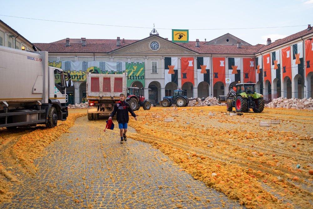 pomorandže posle borbe