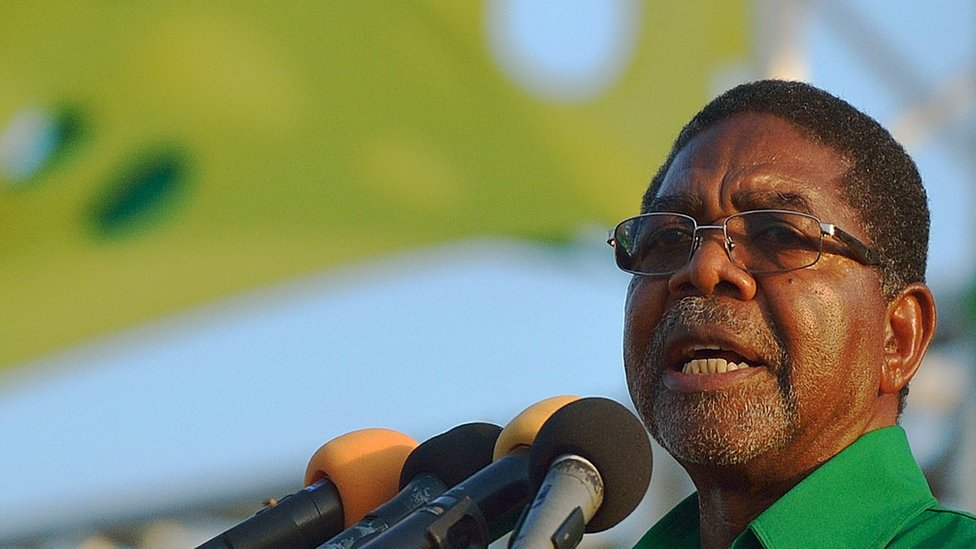 Zanzibari President Ali Mohamed Shein