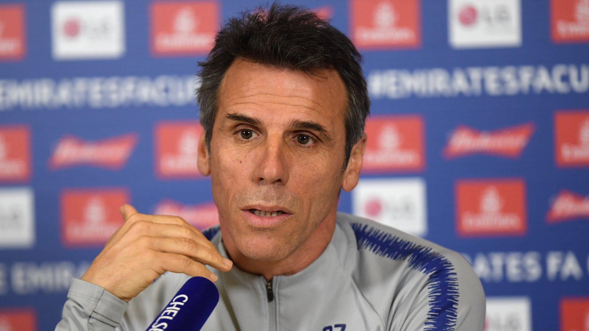 Chelsea face 'challenging' run of games, says Gianfranco Zola