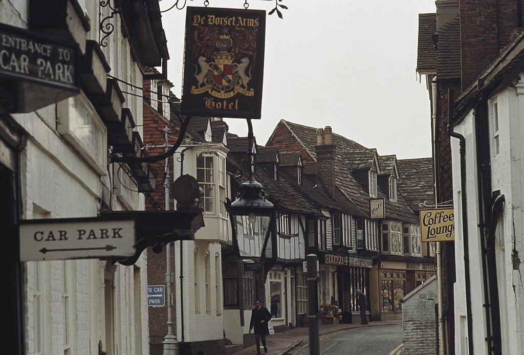 Una calle antigua en East Grinstead
