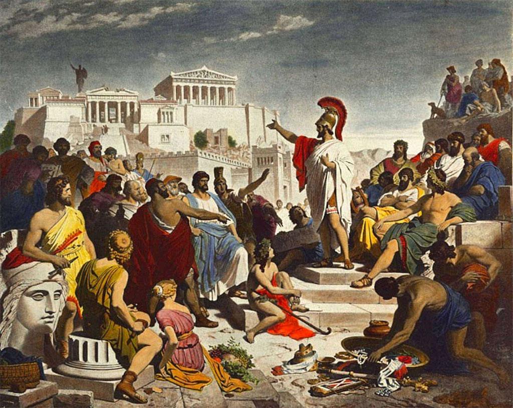 Pericles en la oración fúnebre