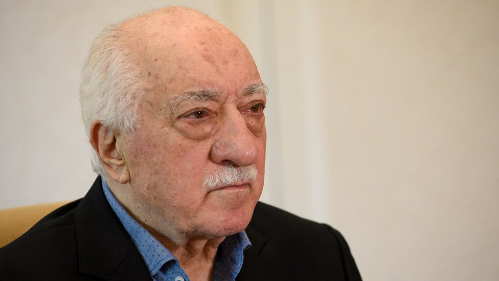 Cleric Fethullah Gulen at Pennsylvania home, 10 Jul 17