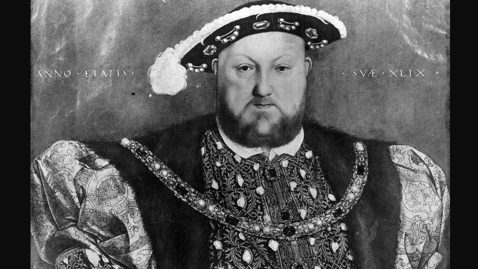 صورة تعبيرية للملك هنري الثامن