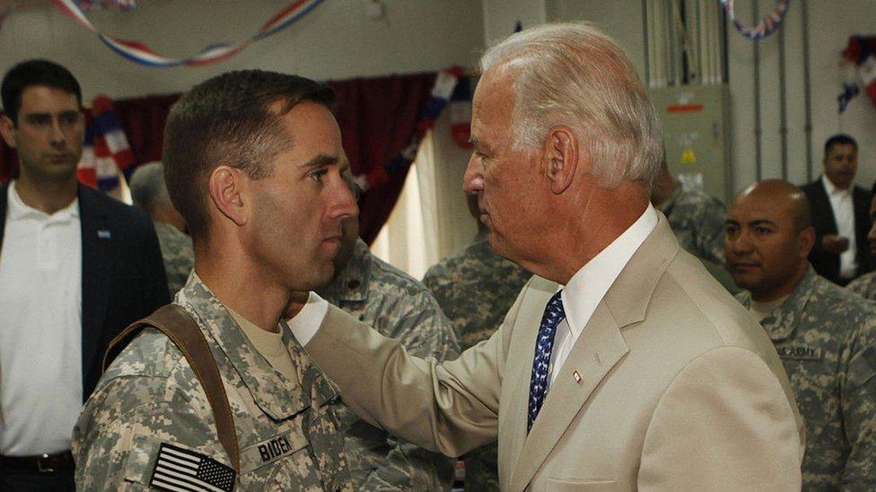 Beau y Joe Biden