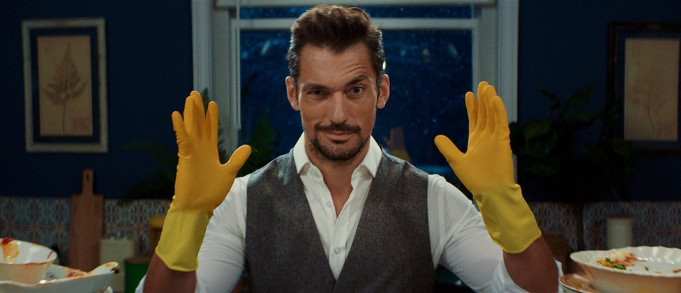 David Gandy in M&S campaign