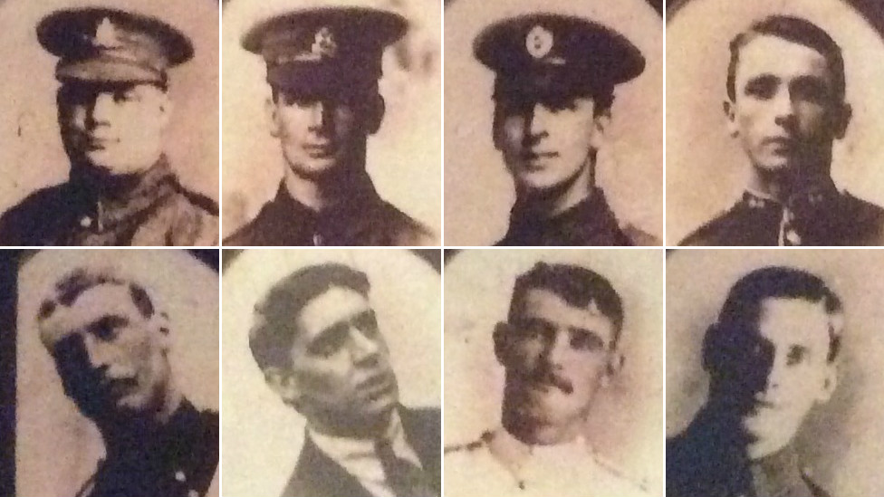 The eight brothers who fought in World War One