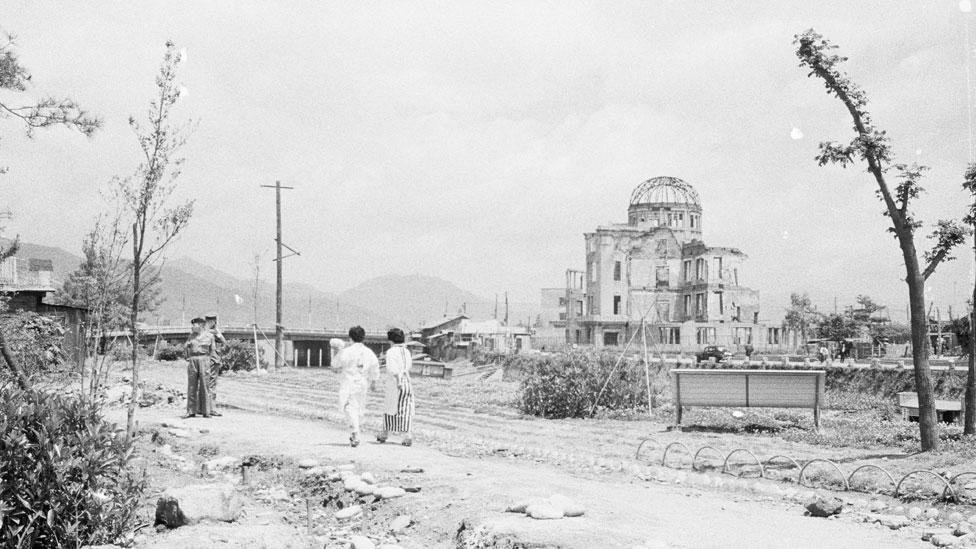 Domo de Hiroshima en 1945