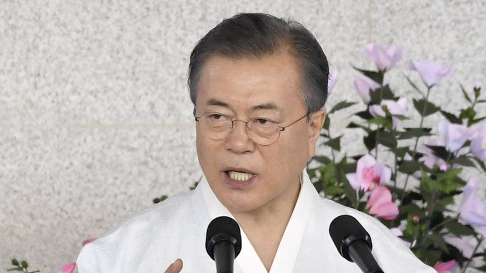 مون جاي-ان تعهد بتوحيد الكوريتين بحلول 2045