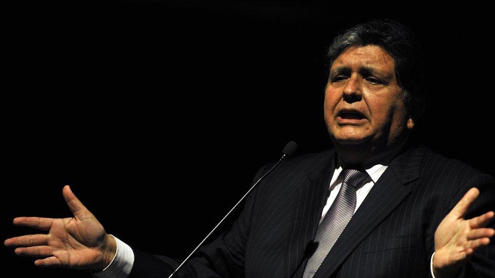 De qué se acusaba a Alan García, el expresidente de Perú que se suicidó cuando l ...