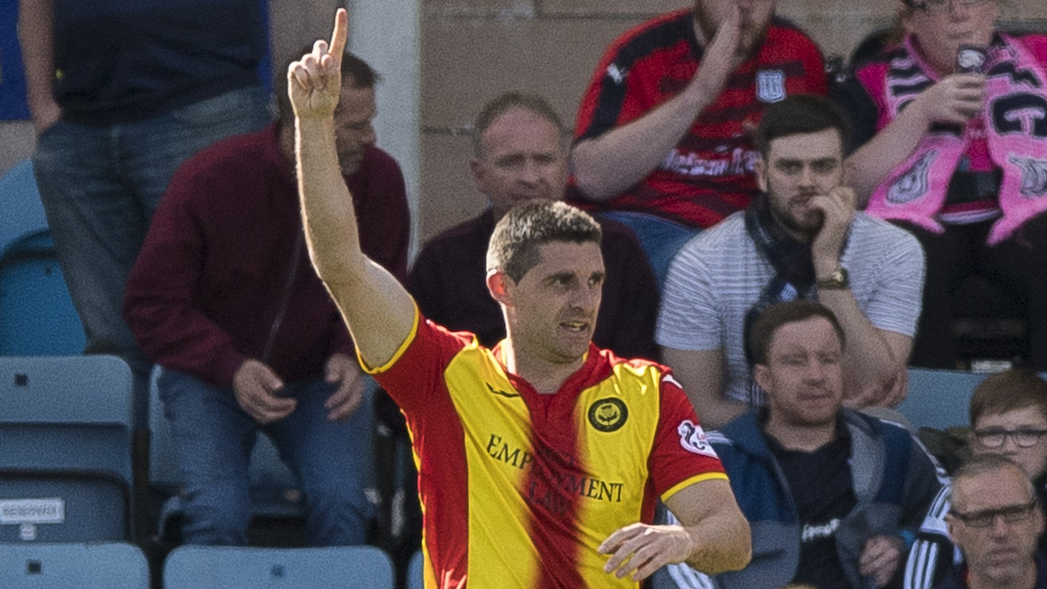 Dundee 0-1 Partick Thistle
