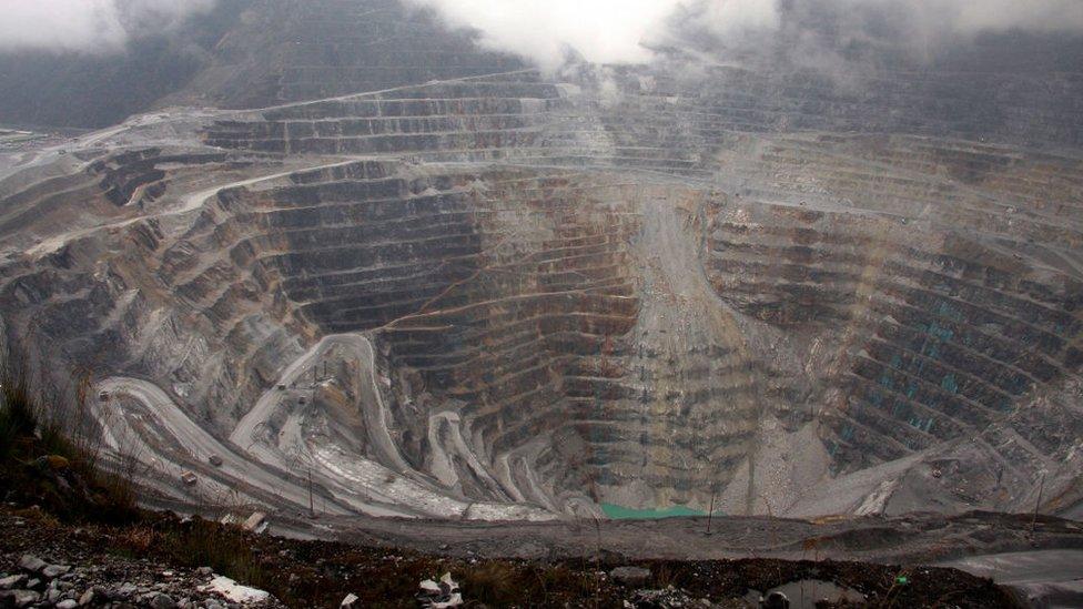 La mina de oro y cobre estadounidense Freeport-McMoRan, en Timika, Papúa, la más grande del mundo