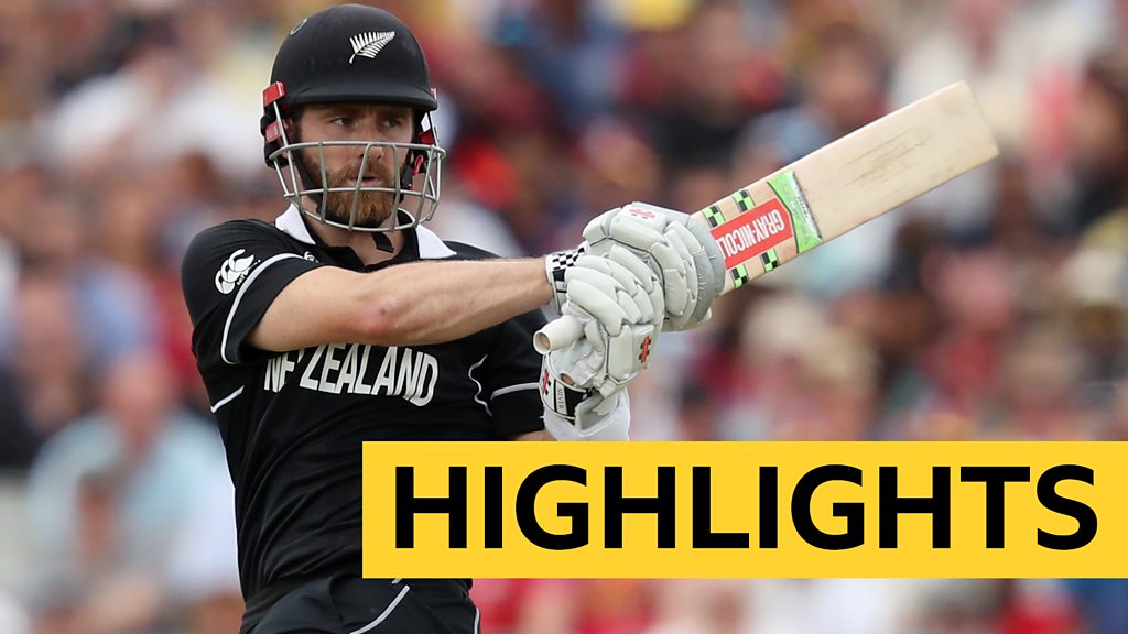 Cricket World Cup: New Zealand beat West Indies in thrilling finale