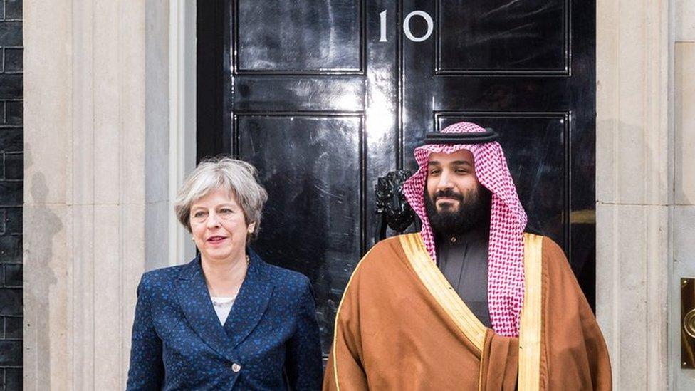 Reality Check: What business does the UK do with Saudi Arabia?