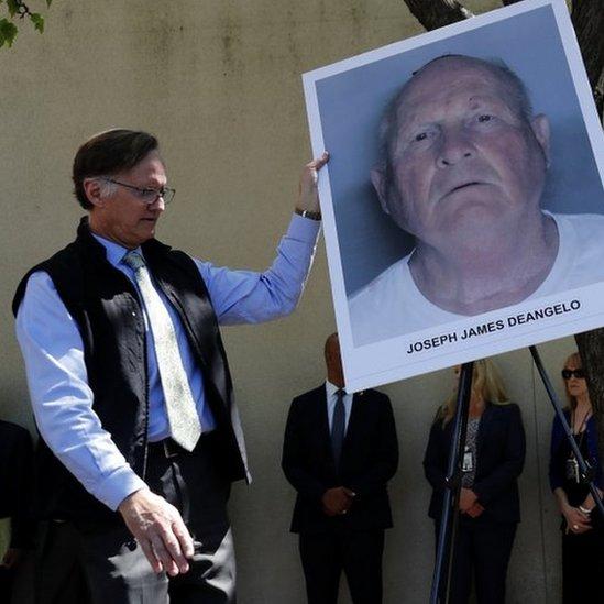"Foto del sospechoso de ser el ""asesino del Golden State"" Joseph James DeAngelo."