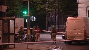 Bomb at City of Culture offices
