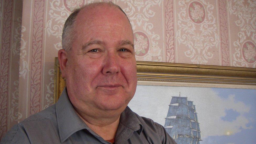 Ship artist James Brereton bounces back after stroke