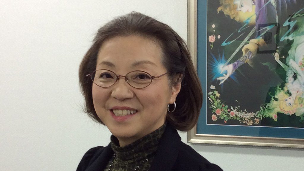 Keiko Takemiya, one of the most influential figures in Japanese girls' manga