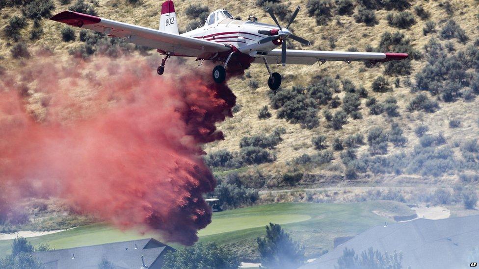 Turboprop plane in Idaho