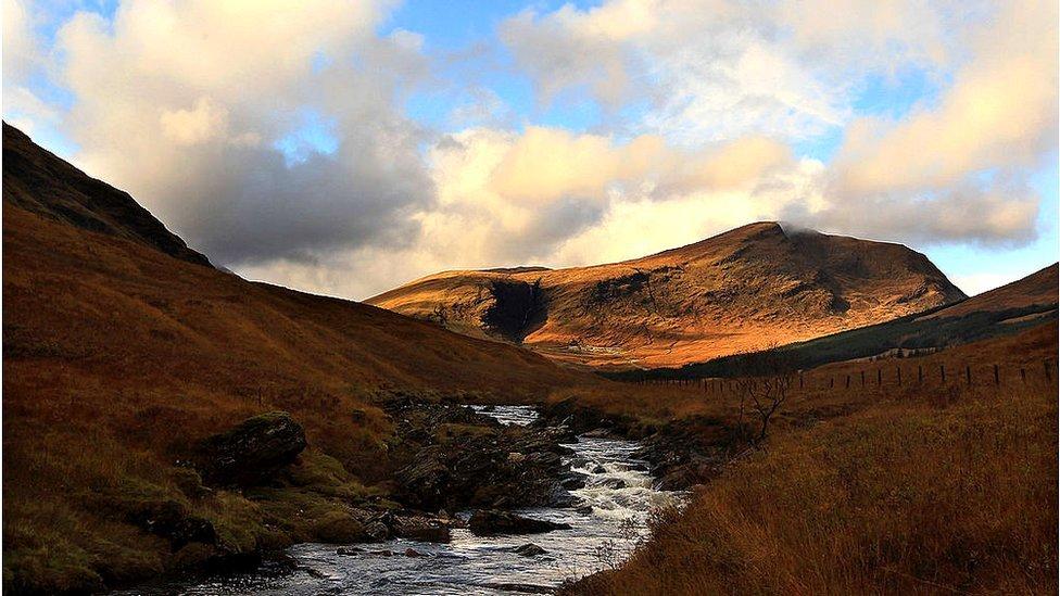 Scottish river