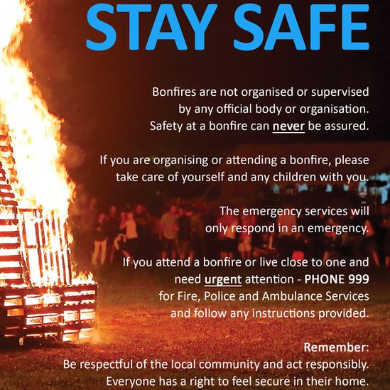 Safety leaflets were delivered to about 200 homes in the area offering residents advice on the dangers of smoke inhalation
