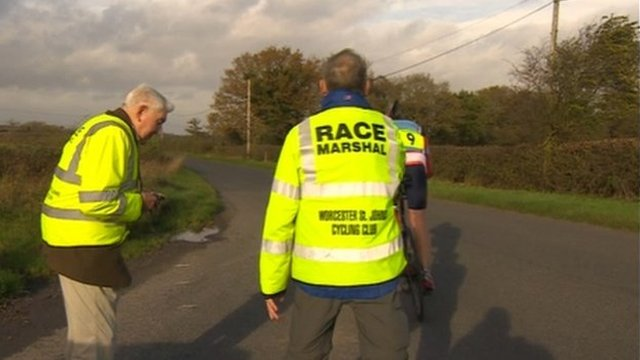 Alec Davies (Worcester St John's Cycling Club)
