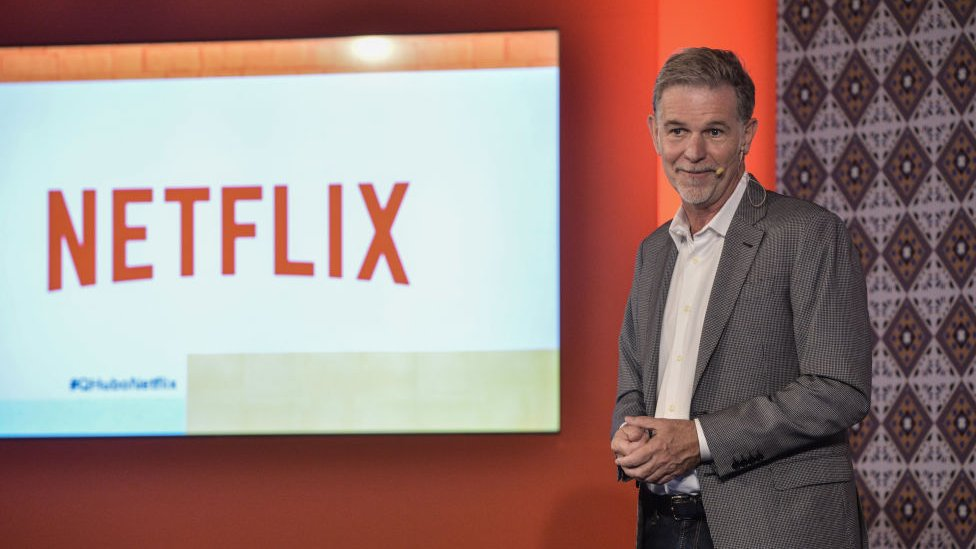 Reed Hastings de Netflix.