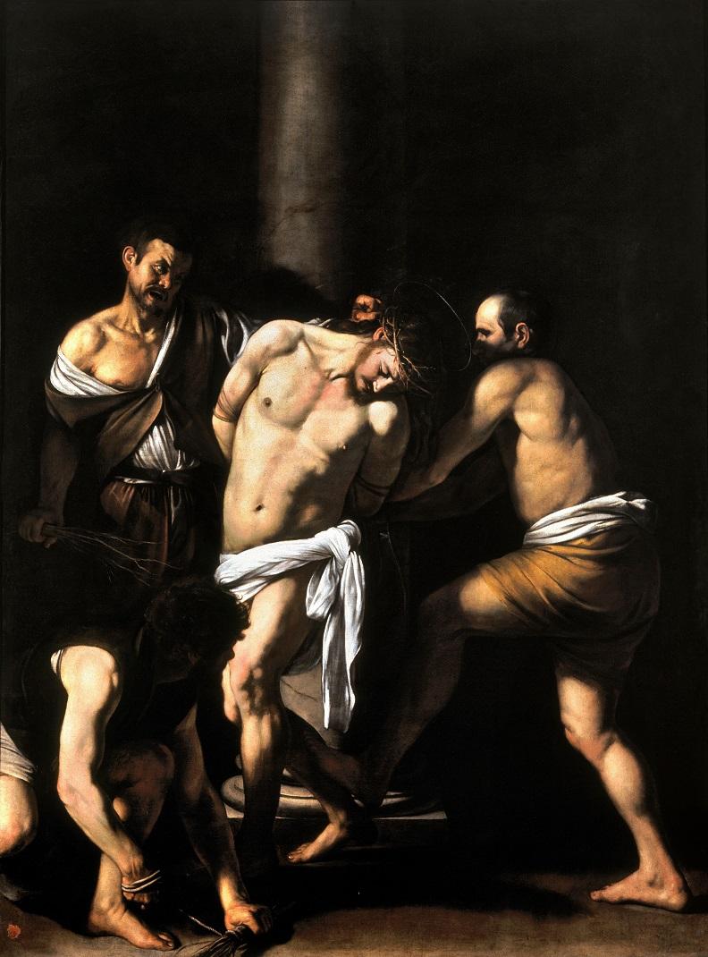 La flagelación de Cristo, de Caravaggio