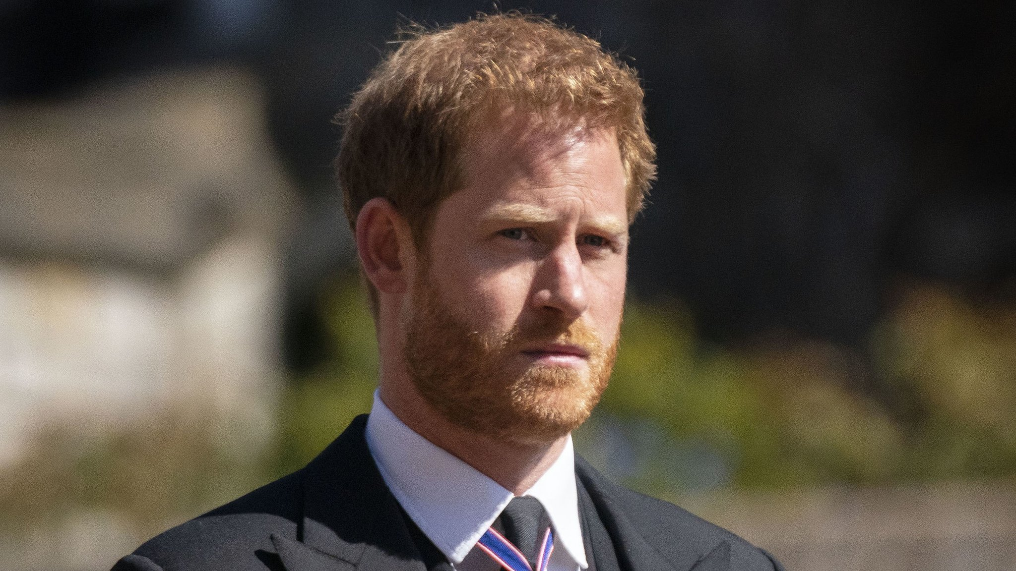 Prince Harry in April 2021