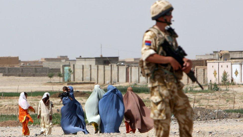 Afganistan'da İngiliz askeri