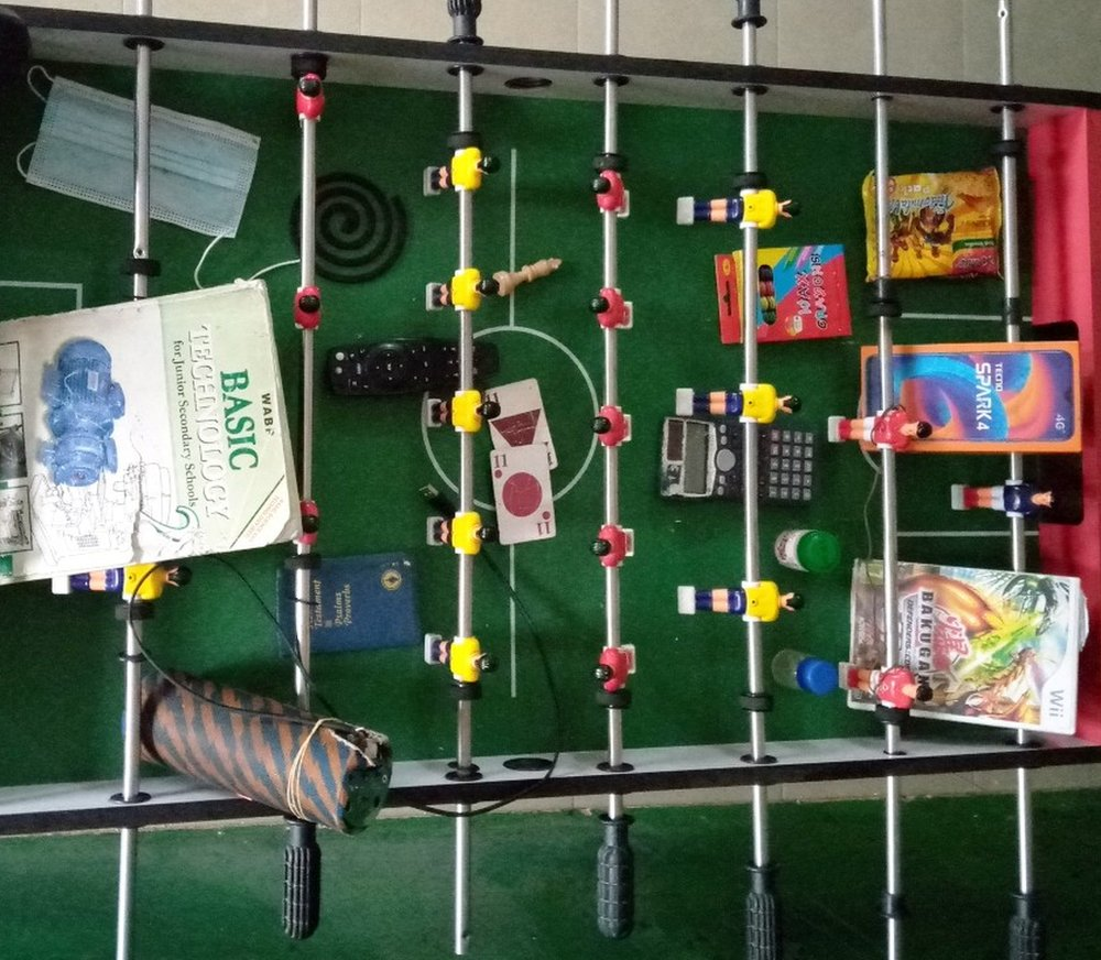 Lockdown essentials by Akinkunmi, Nigeria