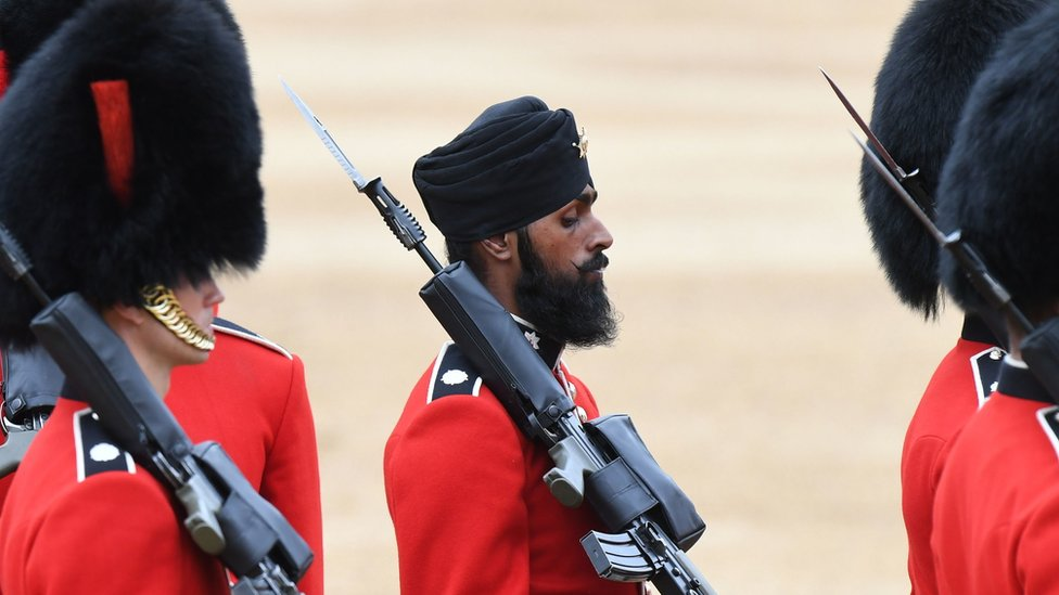 Coldstream Guards soldier Charanpreet Singh Lall
