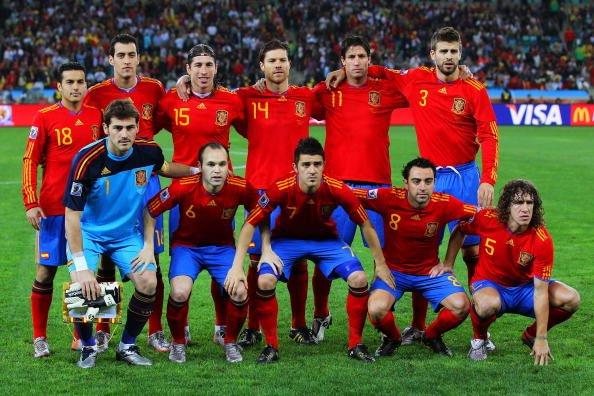 Selección de España en semifinales de Sudáfrica 2010
