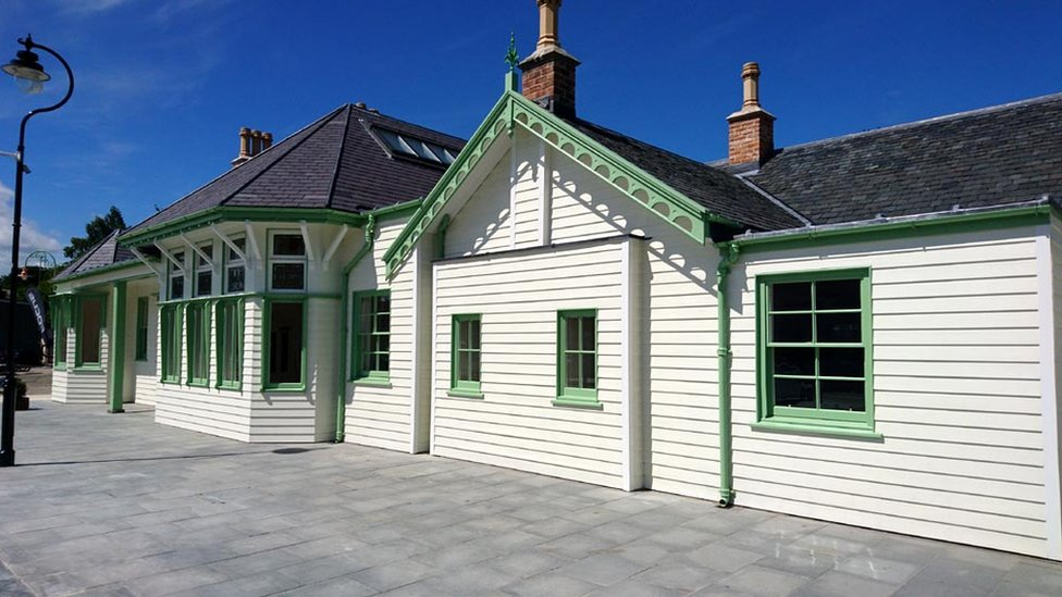 Fire-damaged Ballater station set to reopen