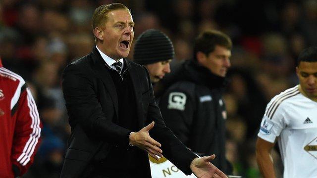 Swansea's Garry Monk