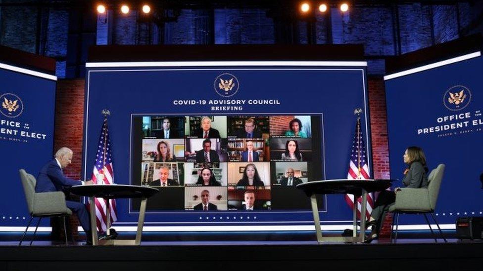 El equipo de expertos sobre covid-19 de Biden