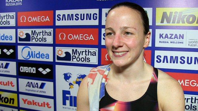 Great Britain's Rebecca Gallantree
