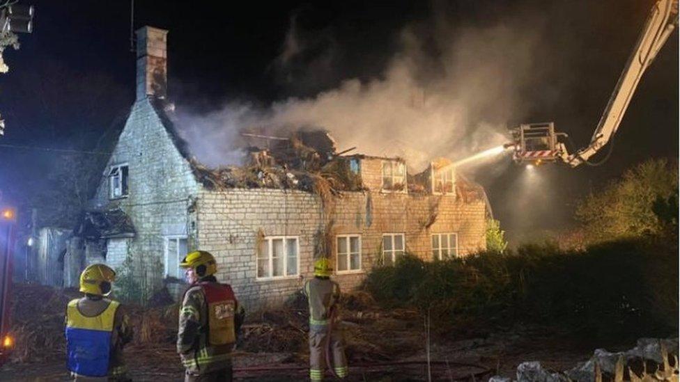 Poxwell fire