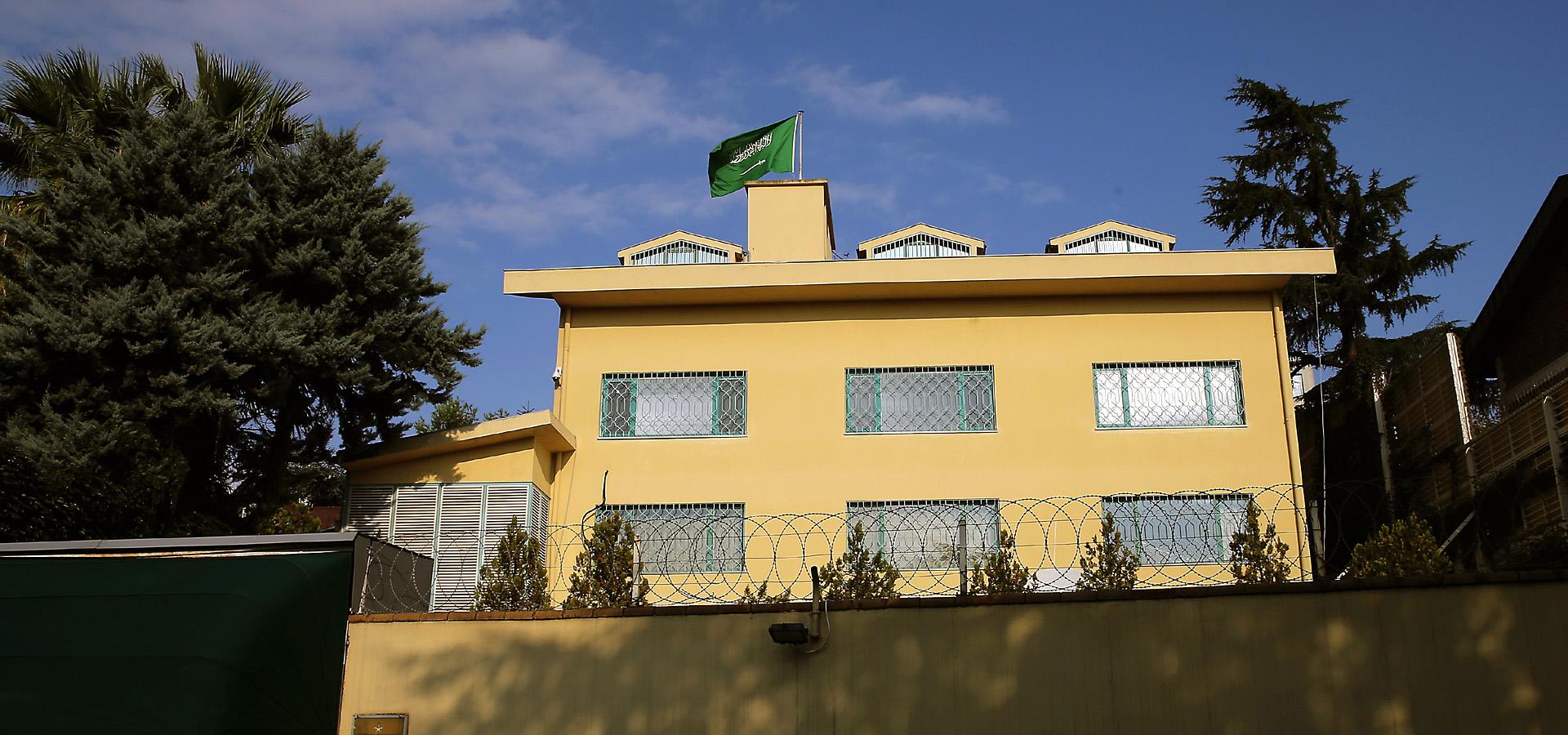 Consulado saudita en Estambul