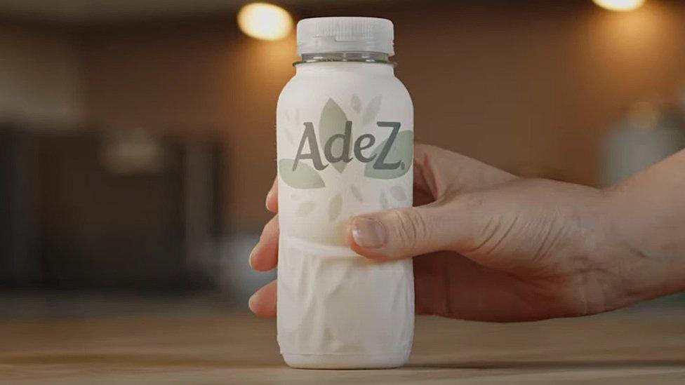 The Adez paper bottle